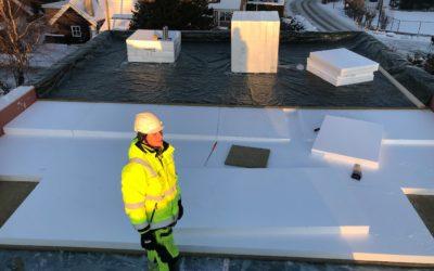 Prosjekt Ånnerudskogen: Tak og terrasser 179 M²