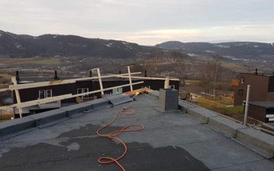 Prosjekt Nordalsveien: Tak og terrasser 98M²